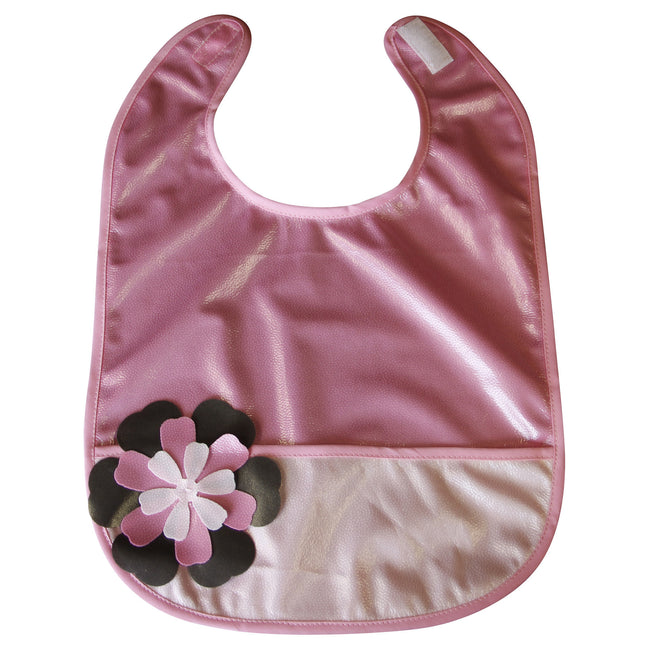 Flower Power Crumb Cap - Crumb Cap Baby Hair Bib for Mealtime