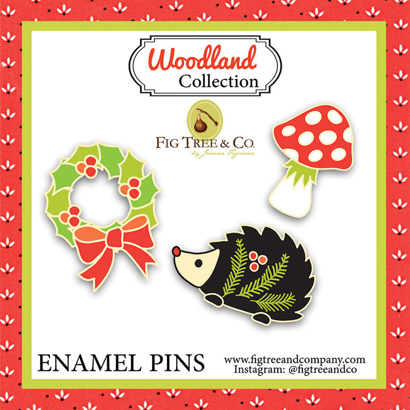 Woodland Collection Enamel Pins
