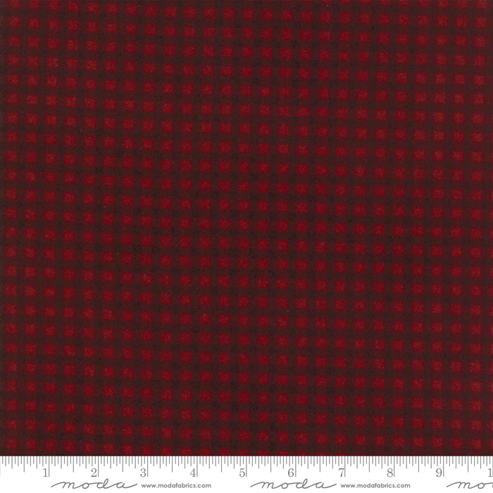 Red Small Buffalo Check 1223-16F