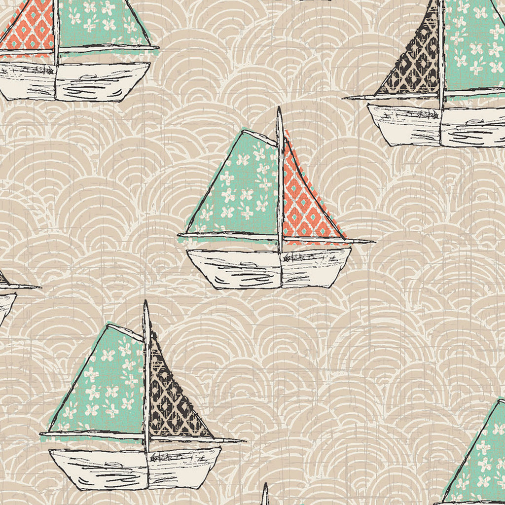 Sailboats 3WI13760-Tan