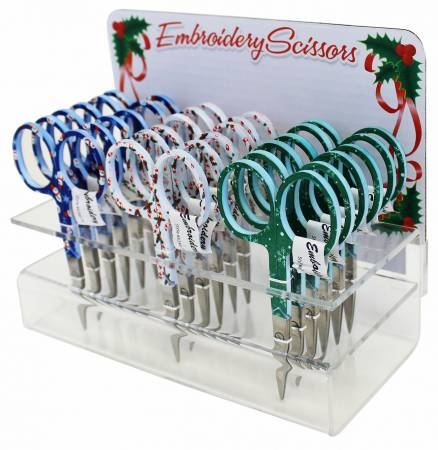 Holiday Embroidery Scissors