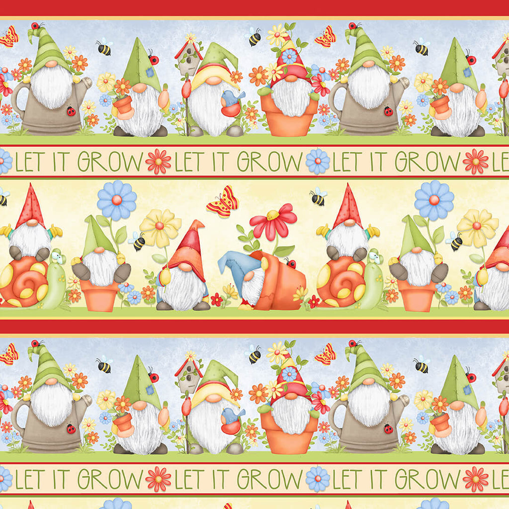 Let It Grow Stripe 9448-14