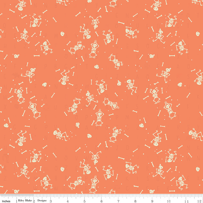 Skeletons C10483 ORANGE