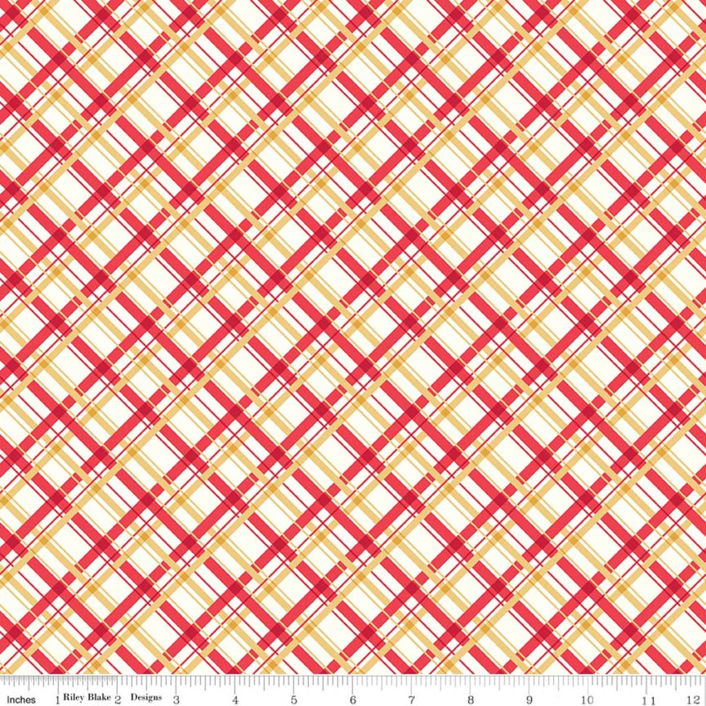 Red Plaid C8896-RED