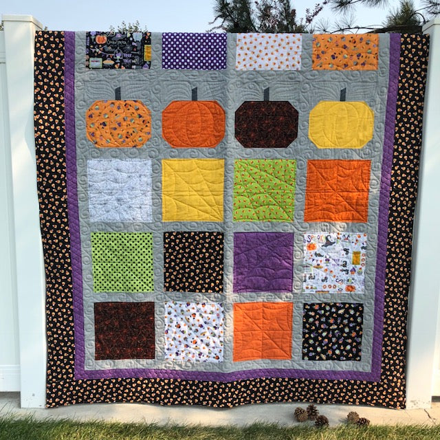 Halloween Goodies Quilt Kit
