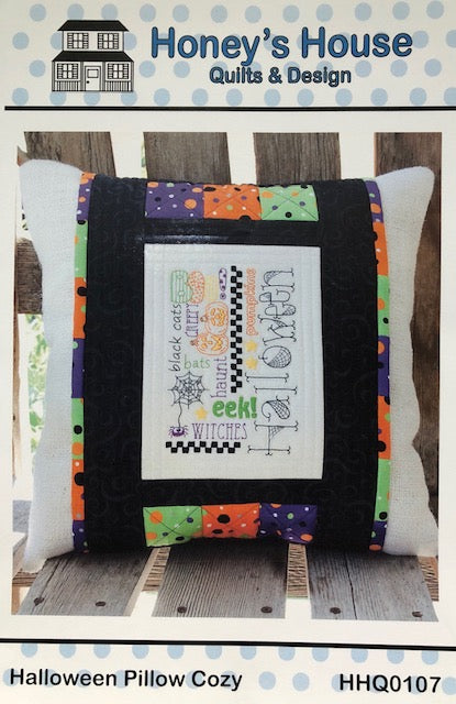 Halloween Pillow Cozy