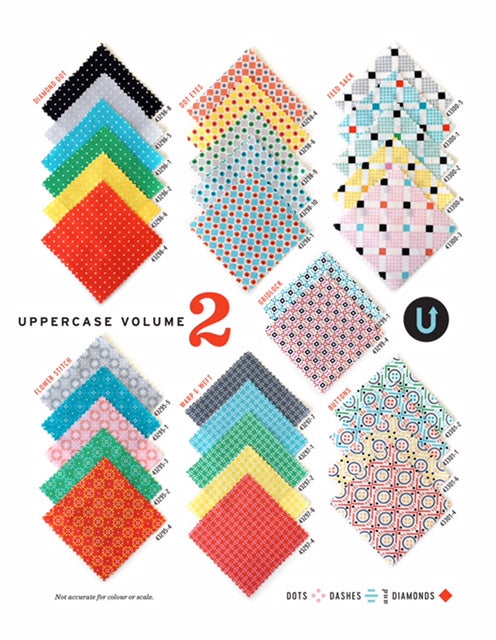 Uppercase Volume 2 Half Yard Bundle