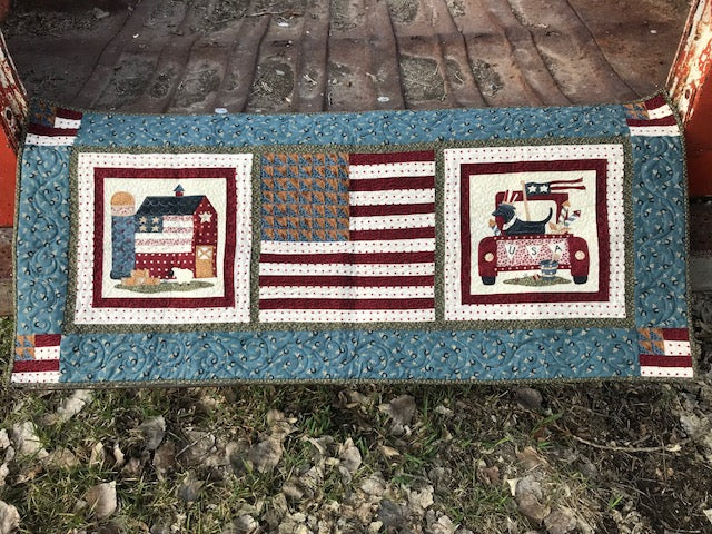 Spirit of America Quilt and Runner Kit