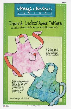 Church Ladies' Apron Pattern