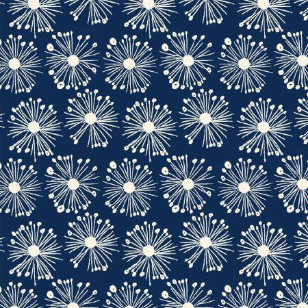 Navy Burst Organic Cotton 43112-1
