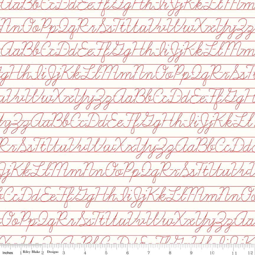 Penmanship Red c6388-