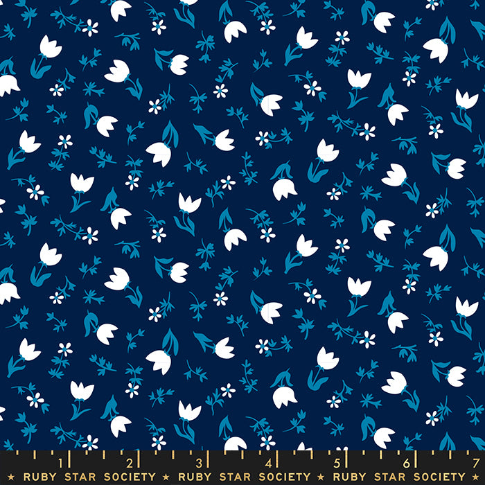Tulip Calico Navy RS3017 14
