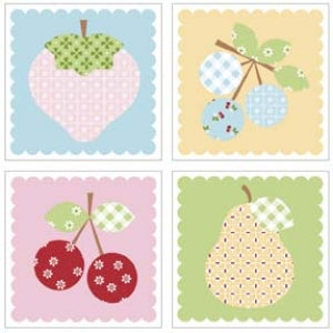 Sew Cherry Magnets