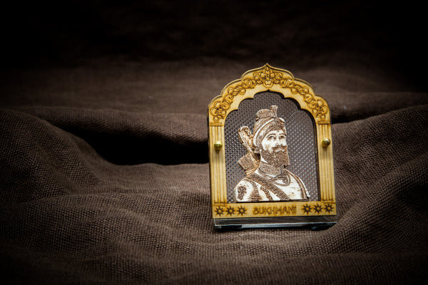 Wooden Guru Sahib's Car Decoration