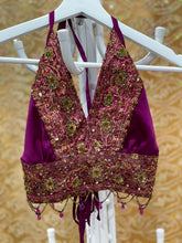 Load image into Gallery viewer, amethyst drip halter top