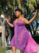 Load image into Gallery viewer, Amethyst Diamonds Magic Dress