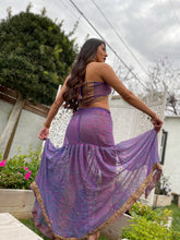 Load image into Gallery viewer, Lavender Love Dreams Skirt Set