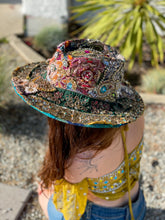 Load image into Gallery viewer, Patchwork Sari Magic Hat