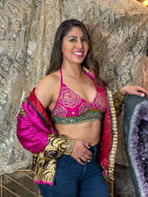 Load image into Gallery viewer, Paisley Dreams Satin Silk Jacket