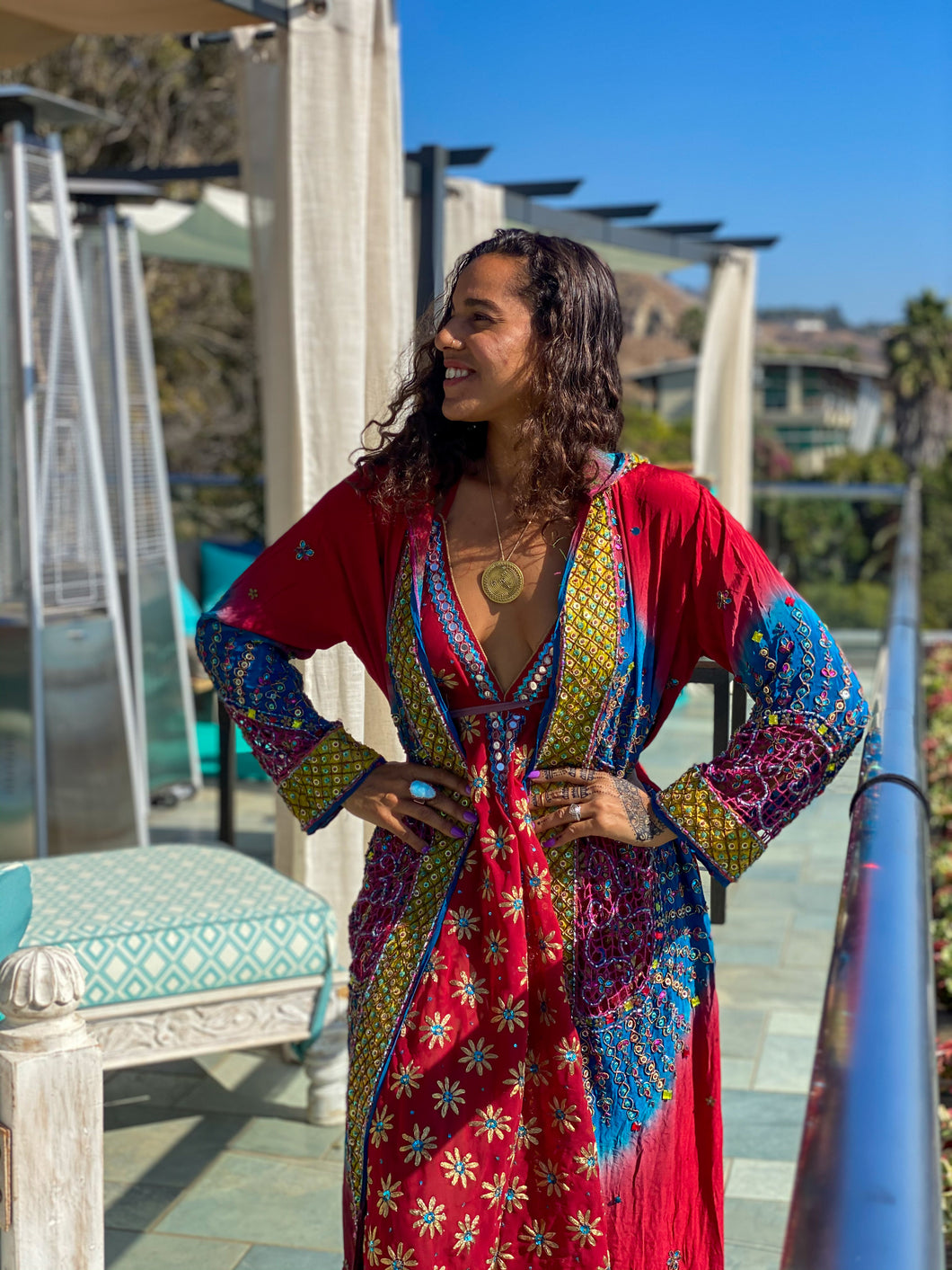 The Jazzy Jewel Goddess Robe
