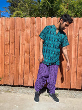 Load image into Gallery viewer, Purple dhoti Pants