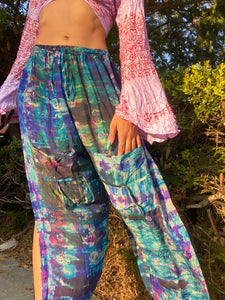 Mosaic Blue Midnight Jasmine Pants