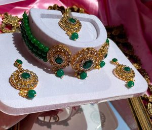 The Emerald Empire Necklace Set