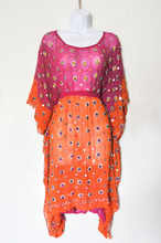 Orange Pink Orbit Butterfly Dress