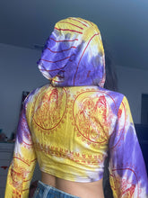 Load image into Gallery viewer, shiva shakti sanskrit hoodie top
