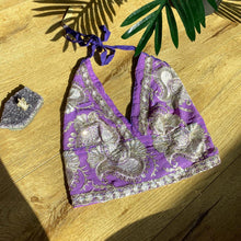 Load image into Gallery viewer, Princess Purp Halter Top