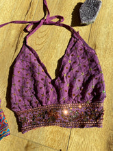 Load image into Gallery viewer, Lilac Serpentine Halter Top