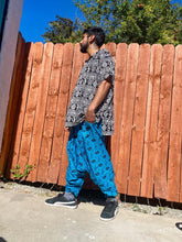Load image into Gallery viewer, Blue Elephant Dhoti Pants