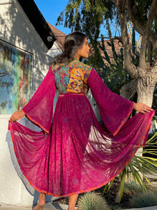 Esmerelda Anarkali Jacket Dress