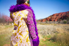 Load image into Gallery viewer, LUXMUSE X NAMASLAY Purple Azra Mahal Coat
