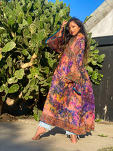 Load image into Gallery viewer, The Sunset Anarkali Robe