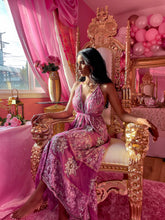 Load image into Gallery viewer, The Pink Dahlia Goddess Dress