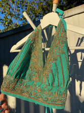 Load image into Gallery viewer, Turquoise Dreams halter top