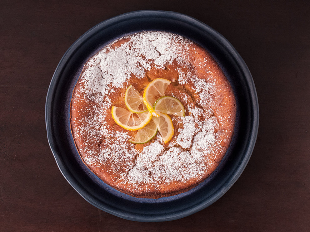 Grapefruit Drizzle Olive Oil Cake