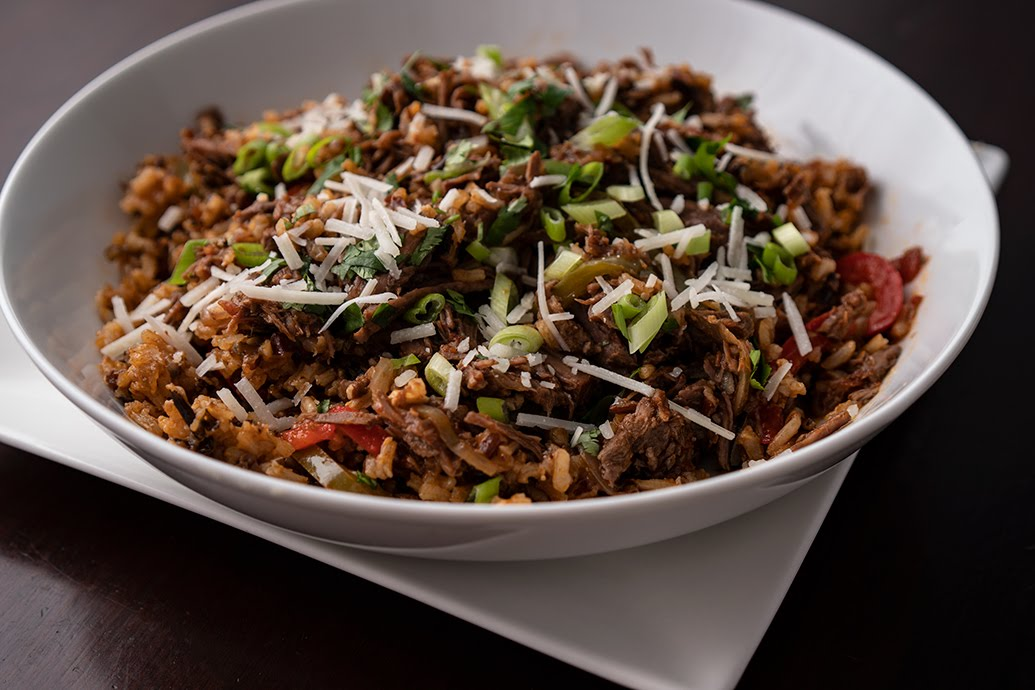 Ropa Vieja (Cuban Beef) with Wild Rice