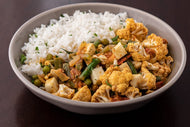 Kerala Spiced Cauliflower, Paneer and Rice