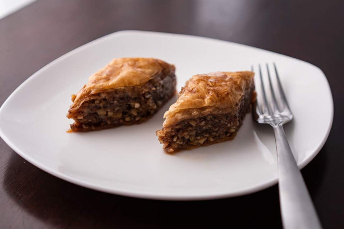 Baklava with Cardamom and Orange Blossom Honey