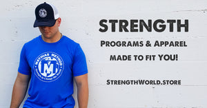 Strength World Workout Programs and Apparel