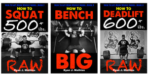 Strength Programs for Squat, Bench Press and Deadlift