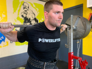 Powerlifting Workout Shirt for Men