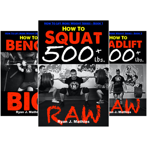 How To Lift More Weight Series Books