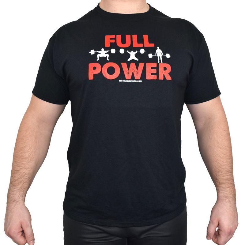 FULL POWER Powerlifting Shirt - STRENGTH WORLD
