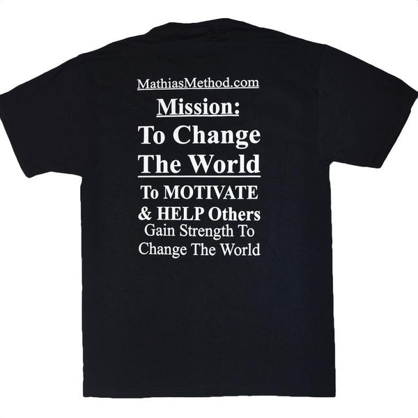 Mathias Method Mission T-Shirt - STRENGTH WORLD