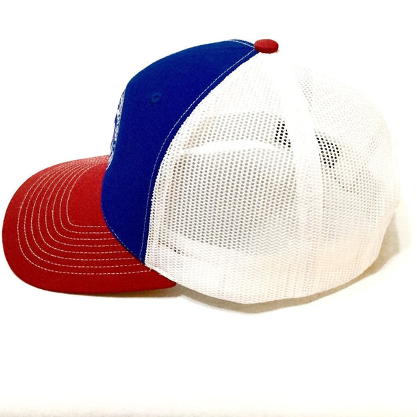 Mathias Method Snapback Hat - Red/White/Blue - STRENGTH WORLD