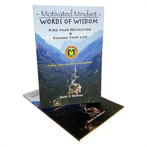 Motivated Mindset: Motivational Words Of Wisdom Book - STRENGTH WORLD