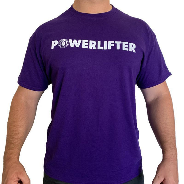 Powerlifting Workout Shirt - POWERLIFTER - STRENGTH WORLD